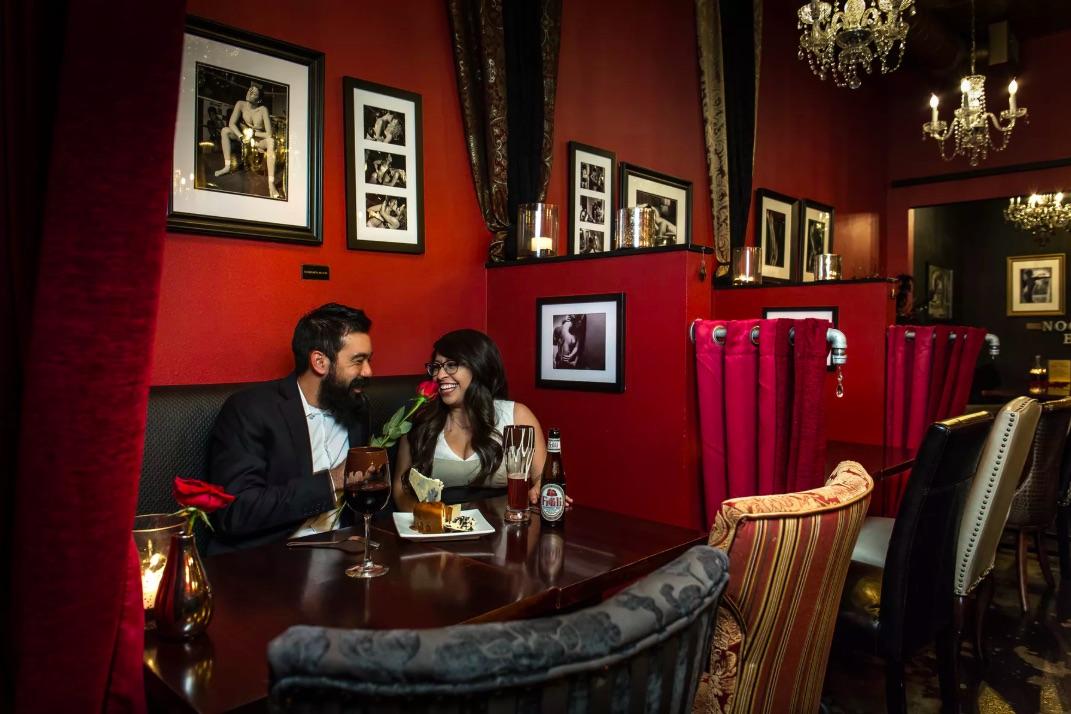 Interior of Better Than Sex: A dessert Restaurant in Key West, FL