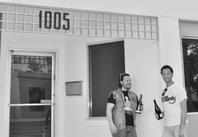 Ryan Rugg (right) and Kory Lynn (left), owners of CellarMasters: Wine Bar & Bottle Shop coming soon to 1005 1st Avenue North in the EDGE District