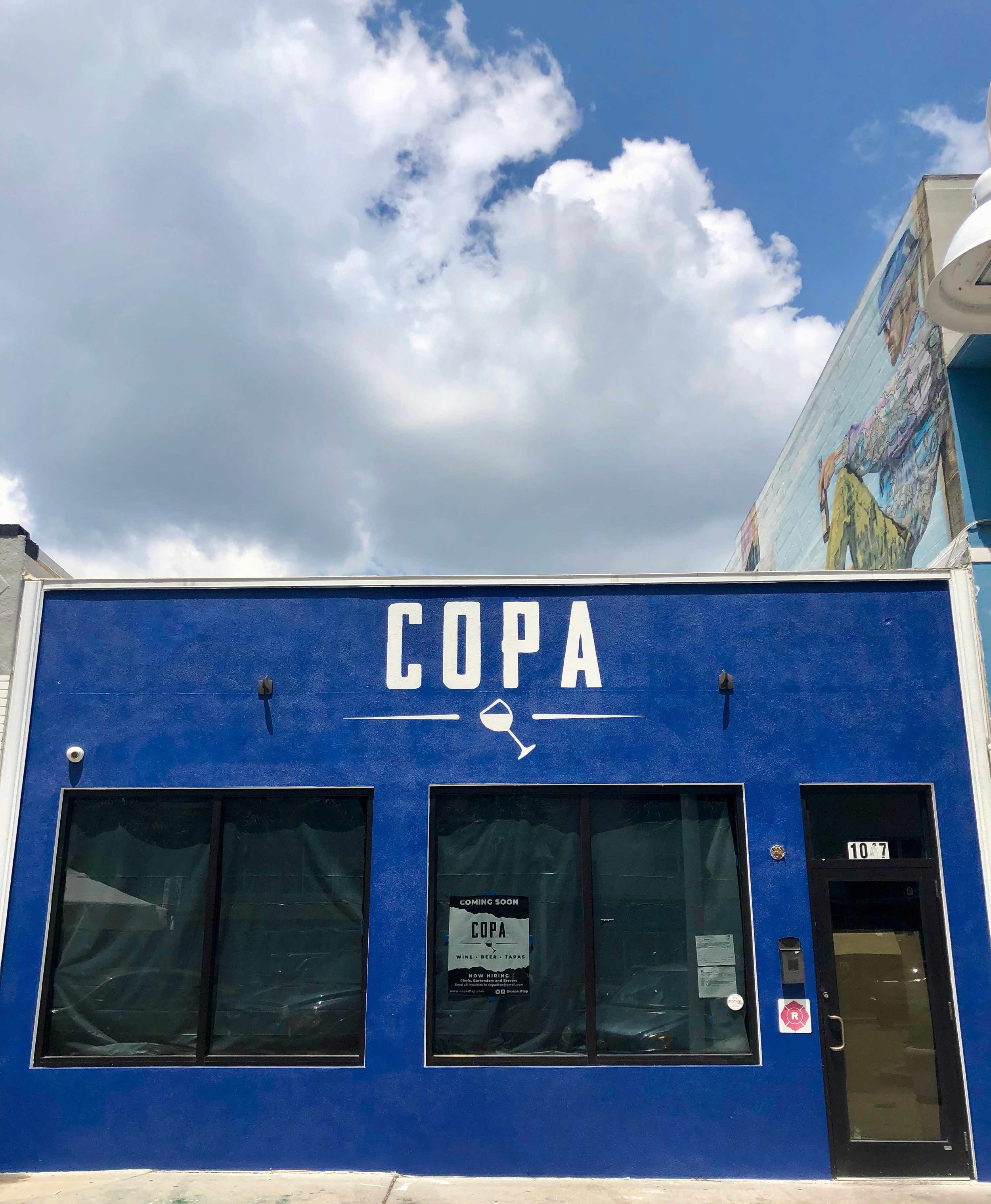 Copa will be located at 1047 Central Avenue, formerly Genaro's Cafe