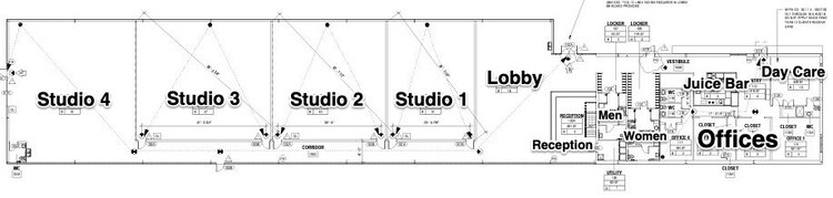 Site Plan for the Body Electric Athletic Company, coming soon to 655 31st Street South in the Warehouse Arts District