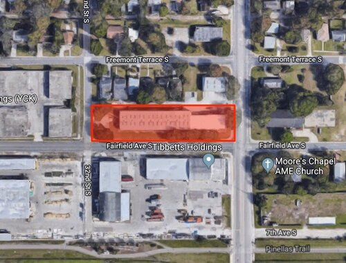 The Future site of The Body Electric Athletic Company, 655 31st Street South in the Warehouse Arts District