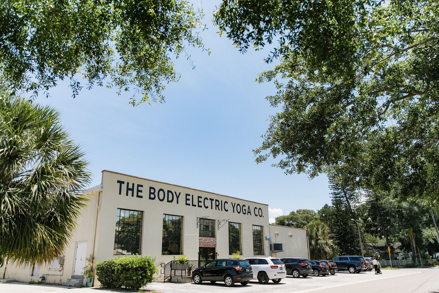 The Body electric Yoga Company located at 3015 7th Street North in St Petersburg, FL. Photo Credit City of St Petersburg