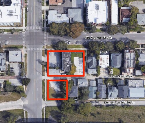 TRB Development recently closed on the purchase of five lots on the southeast corner of 4th Avenue South and 6th Street South.