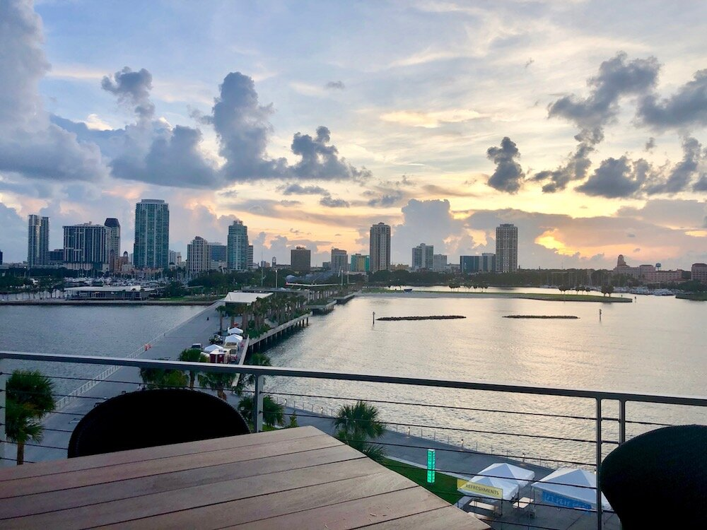 The 26 acre St Pete Pier district opens with restaurants and