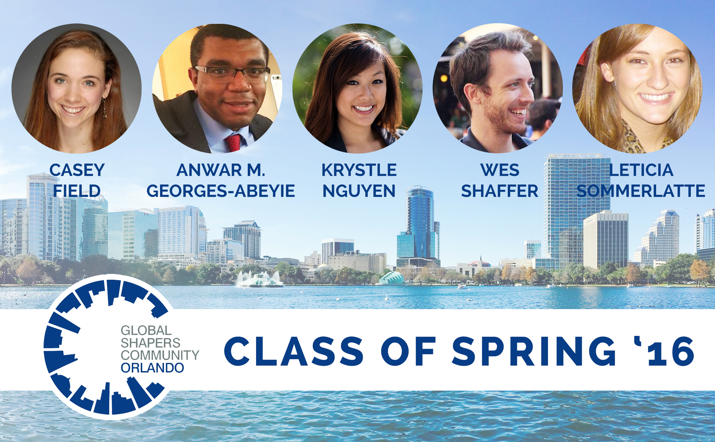 """The Orlando Hub is proud to welcome our newest members to the Global Shaper Community - an initiative of the World Economic Forum.  We welcome the class of Spring '16 - Casey Field, Anwar M. Georges-Abeyie, Krystle Nguyen, Wes Shaffer and Leticia Sommerlatte.  The incoming Shapers will also be hosting """"To Build a Home Hack-a-thon"""" this Thursday at 5:30 pm to 7:30 pm at the Downtown Orlando Public Library. The purpose of the project is to engage the community on building an innovative idea towards eradicating homelessness in our city.   https://www.facebook.com/events/1765319587070739/"""
