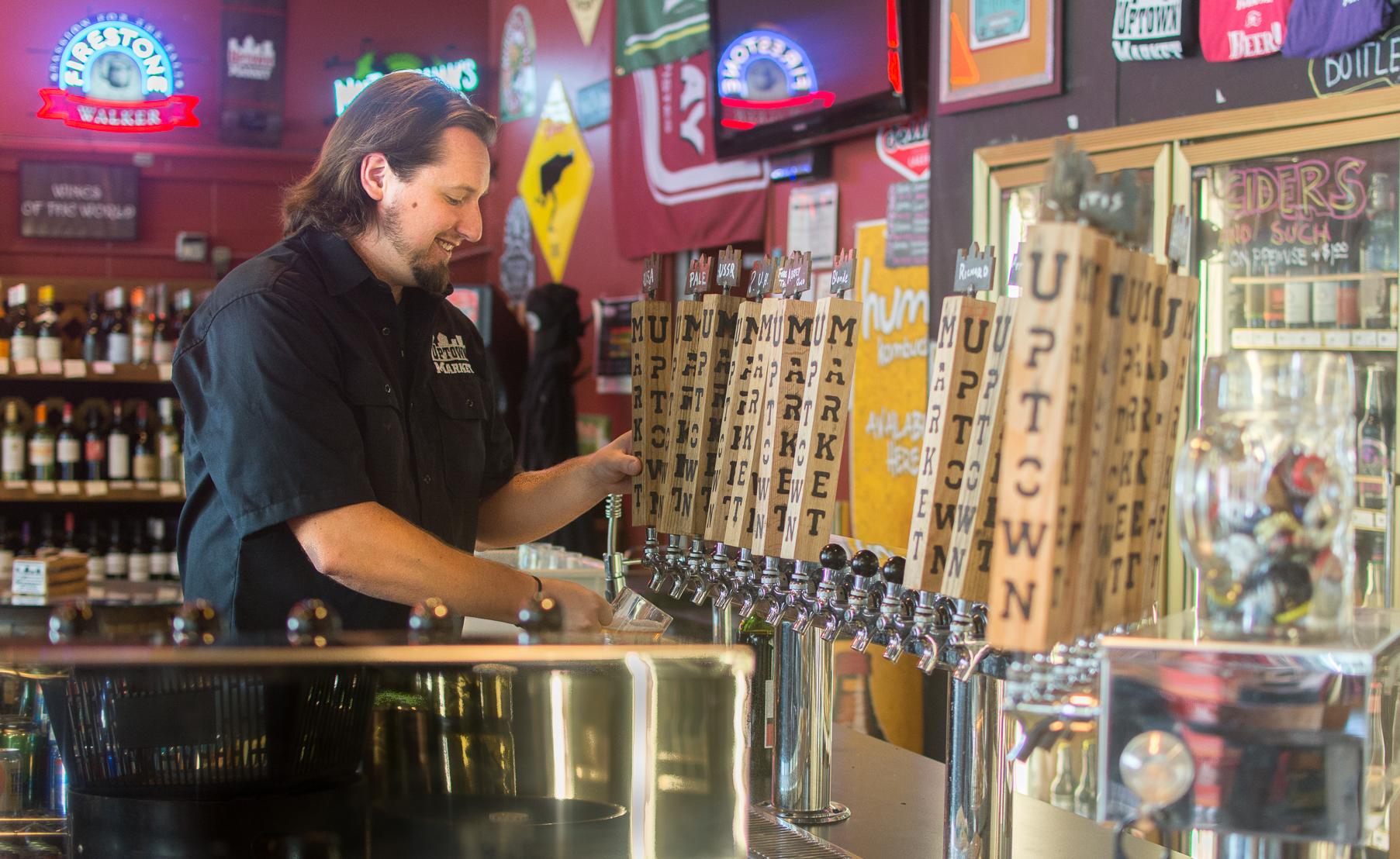 Tyler Staples, head brewer since June 2015.