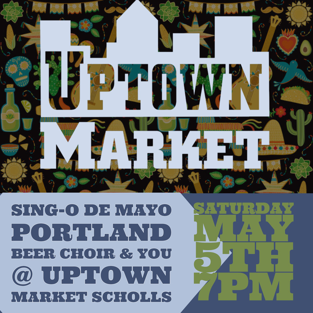 Portland Beer choir will be bringing their piano, we've got the beers covered, just need some singers to come and belt out drinking songs!  Taco Specials and Mexican Lagers!!!
