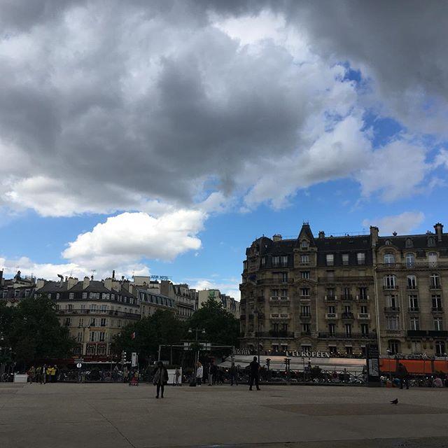 back in Paris.. . and Parisian rain ! #😍#nofilter