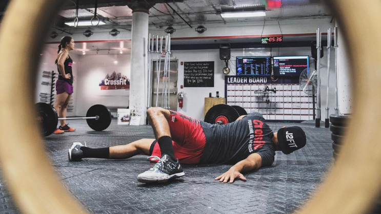 stretching and mobility training for crossfitters