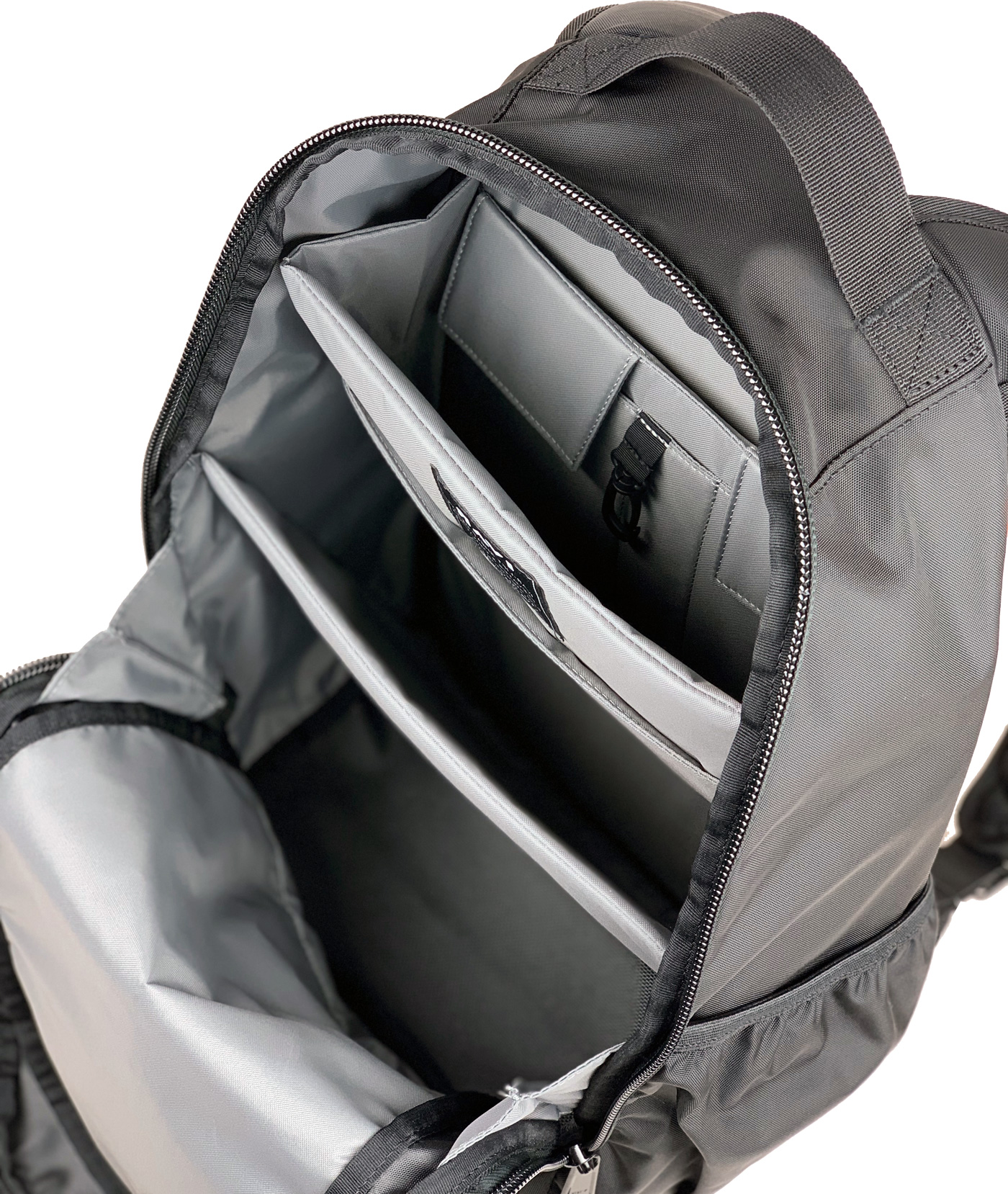 The BackpackReinvented - We've reimagined the traditional backpack with our patented file-like for superior organization, load balance and comfort.