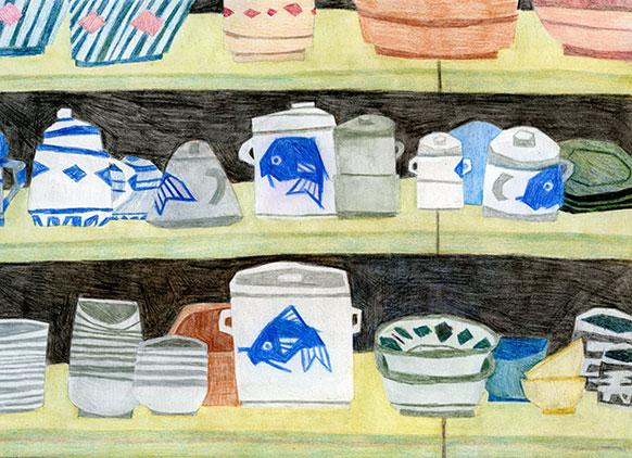 Fish Clay Pots