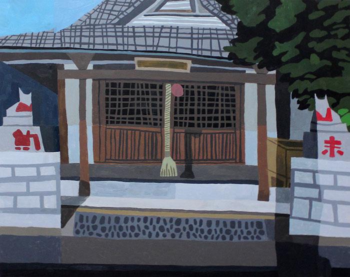 Shrine in Residential Tokyo 1
