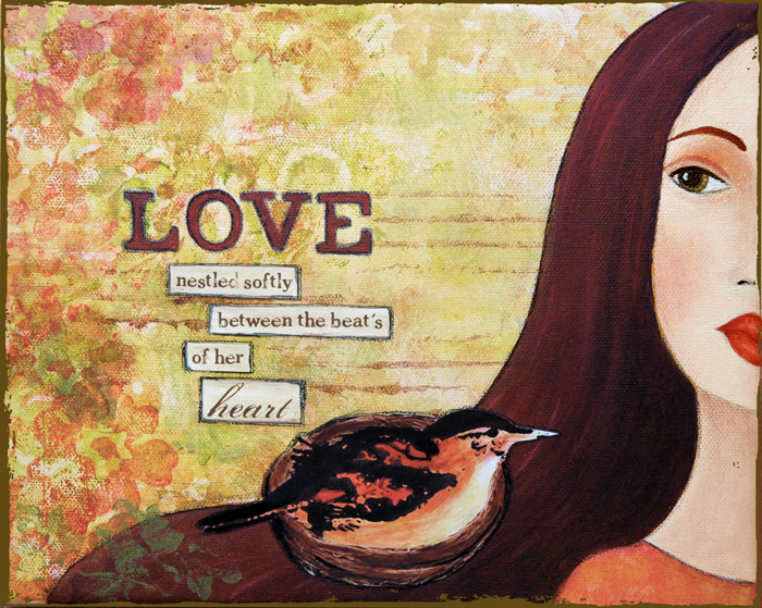 Love nestled Softly