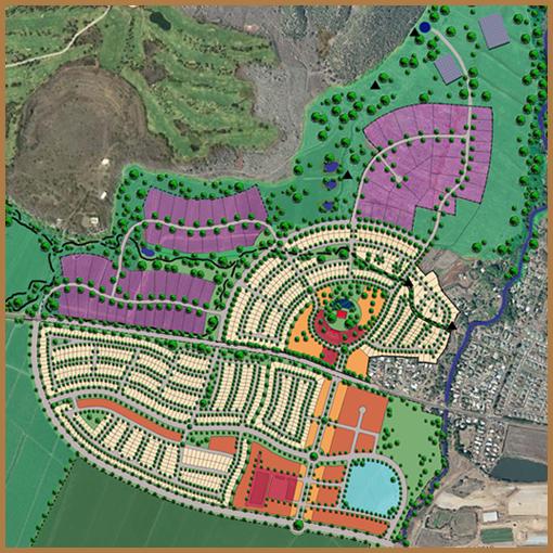 Waikapu Country Town - Master Plan