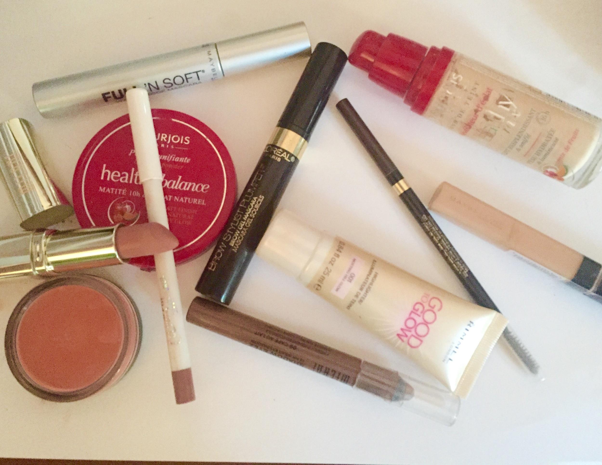 minimal makeup products