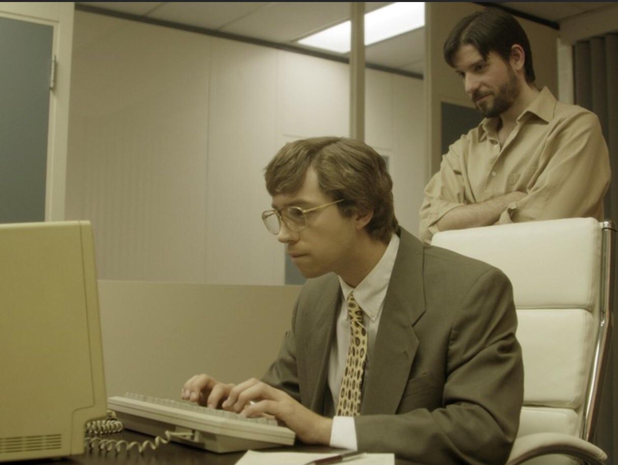 Jobs and Gates - Collaboration before betrayal.