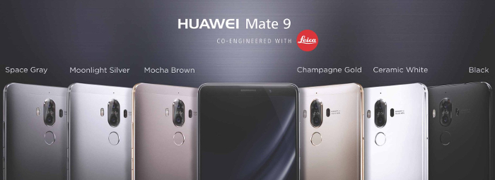 Click photo to visit Huawei's page learn more about the Huawei Mate 9