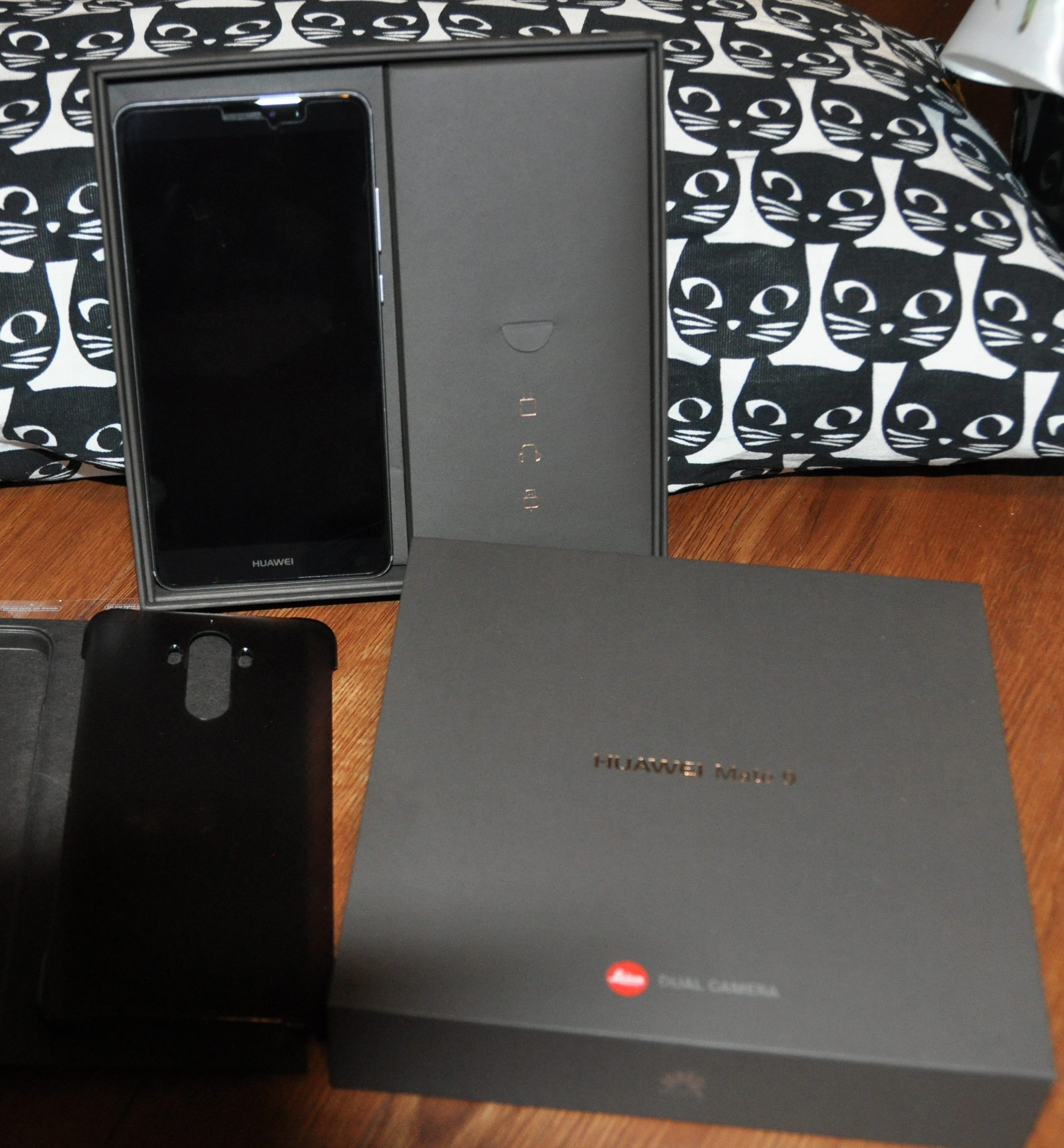Boxed phone with included case