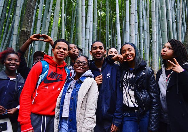 KNC students explored Japan in 2015, and we're going back in 2020!  Applications for our 2020 program are now available on the website - help spread the word! #TBT #kidsnculture #Japan