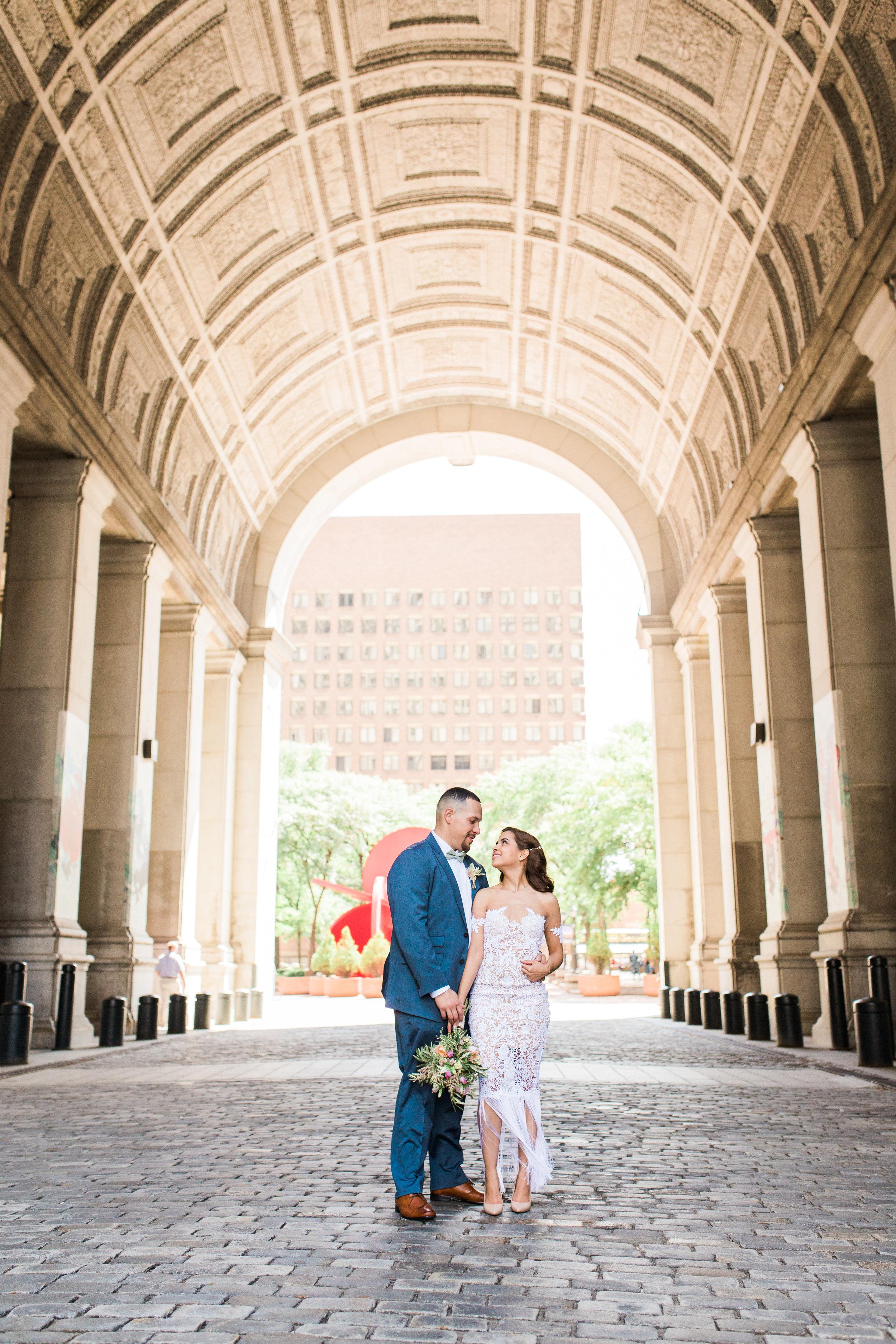 GLENI + DOUG  City Hall Wedding
