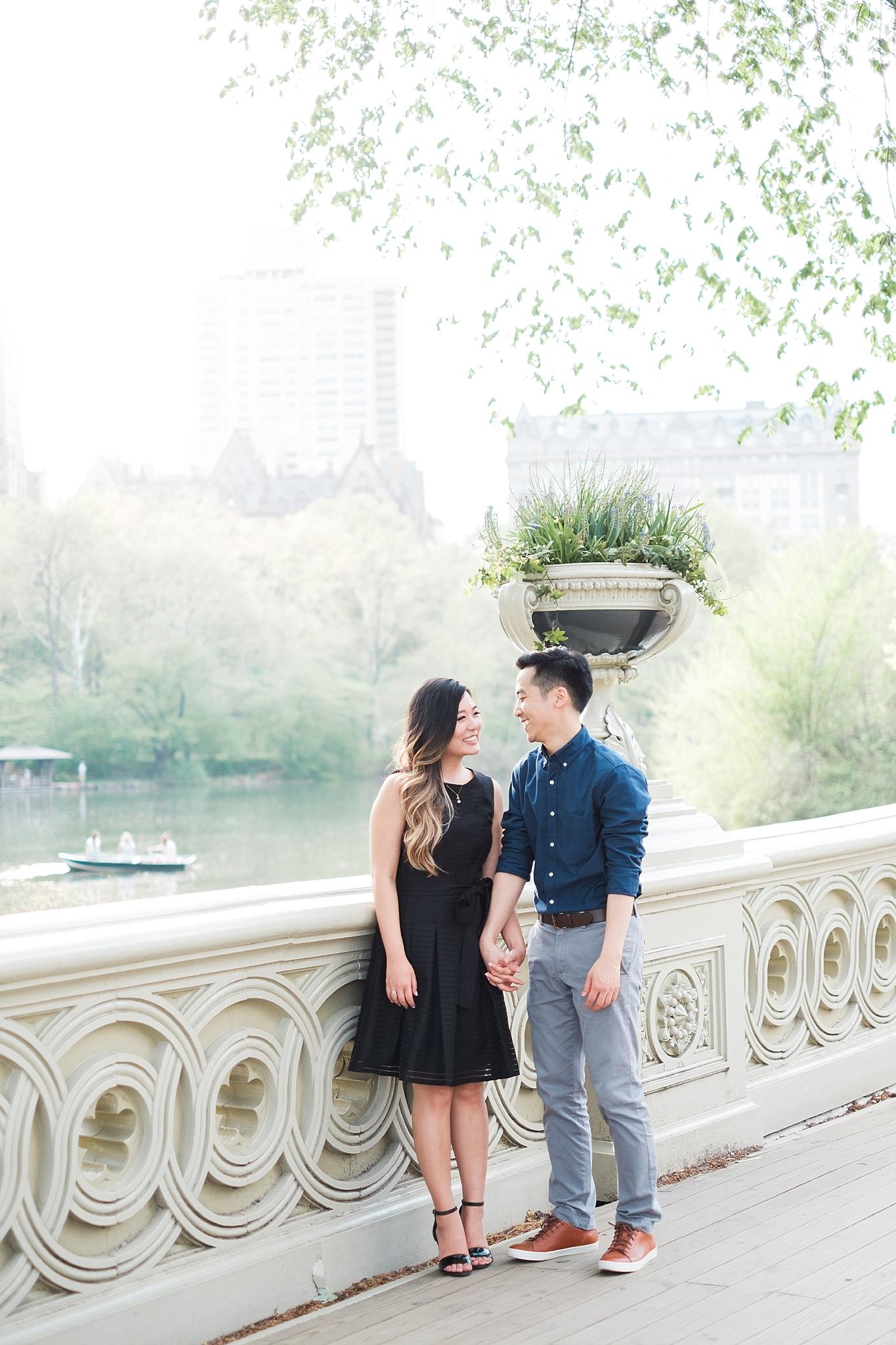 SHARON + STEVEN  Central Park Engagement