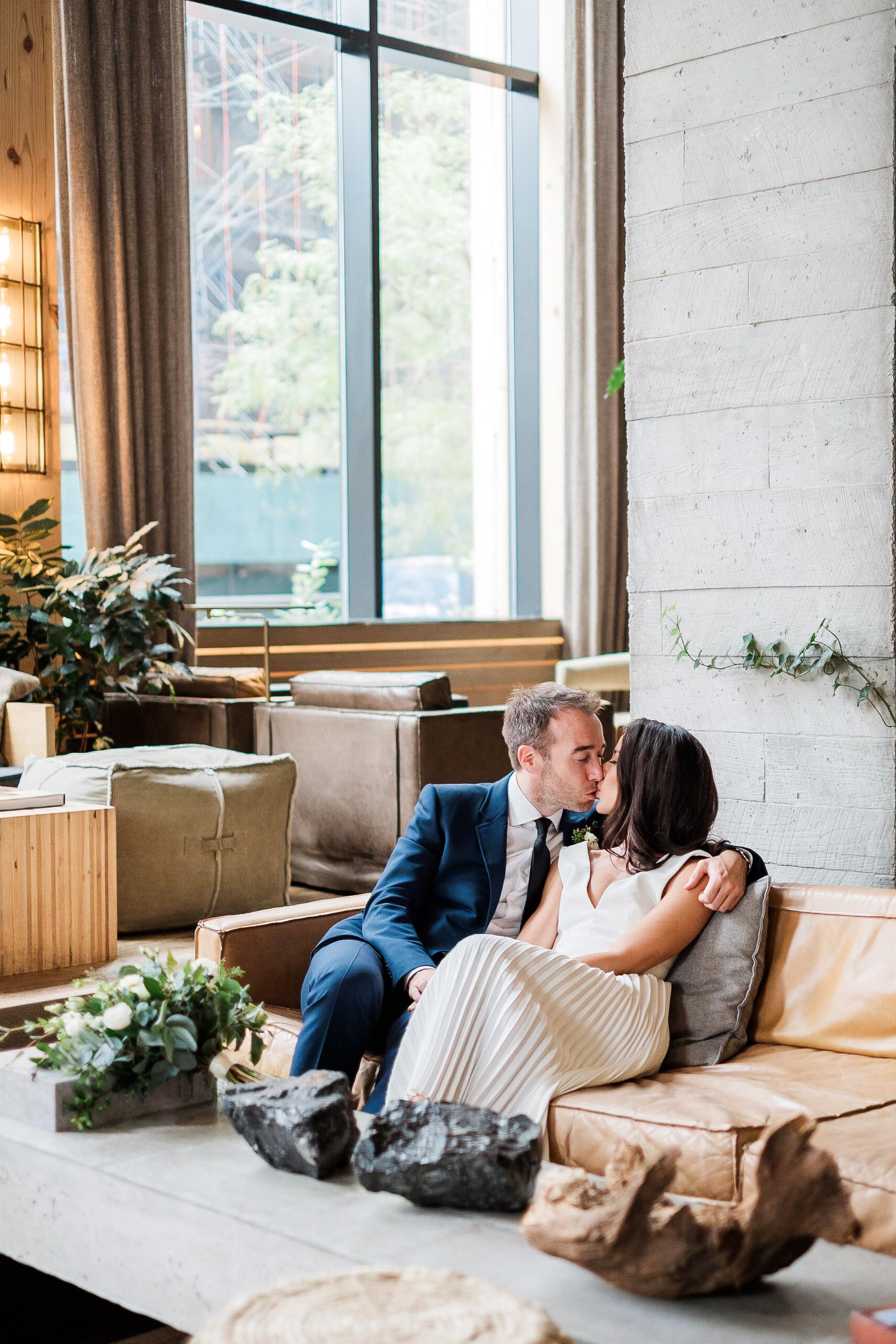 JOEY + SAM  1 Hotel and Frankie's 457 Wedding