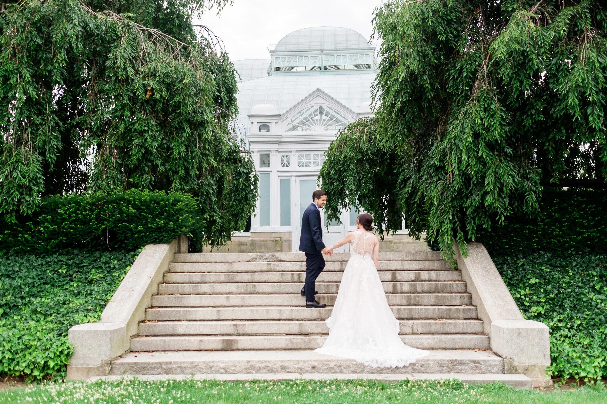 STACY + PAUL  New York Botanical Garden Wedding