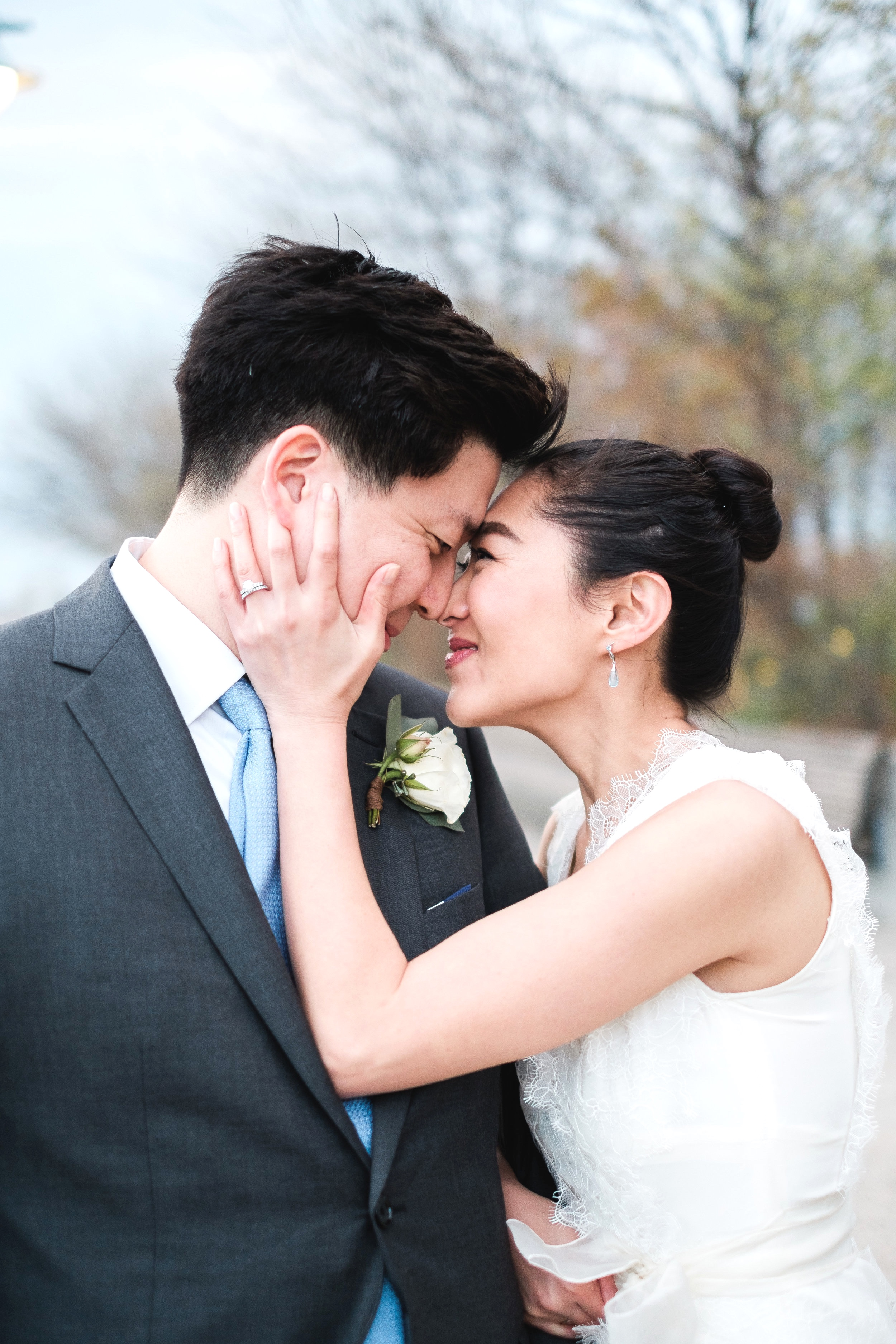 MEE HYUN + BRIAN  Sunset Terrace at Chelsea Piers Wedding