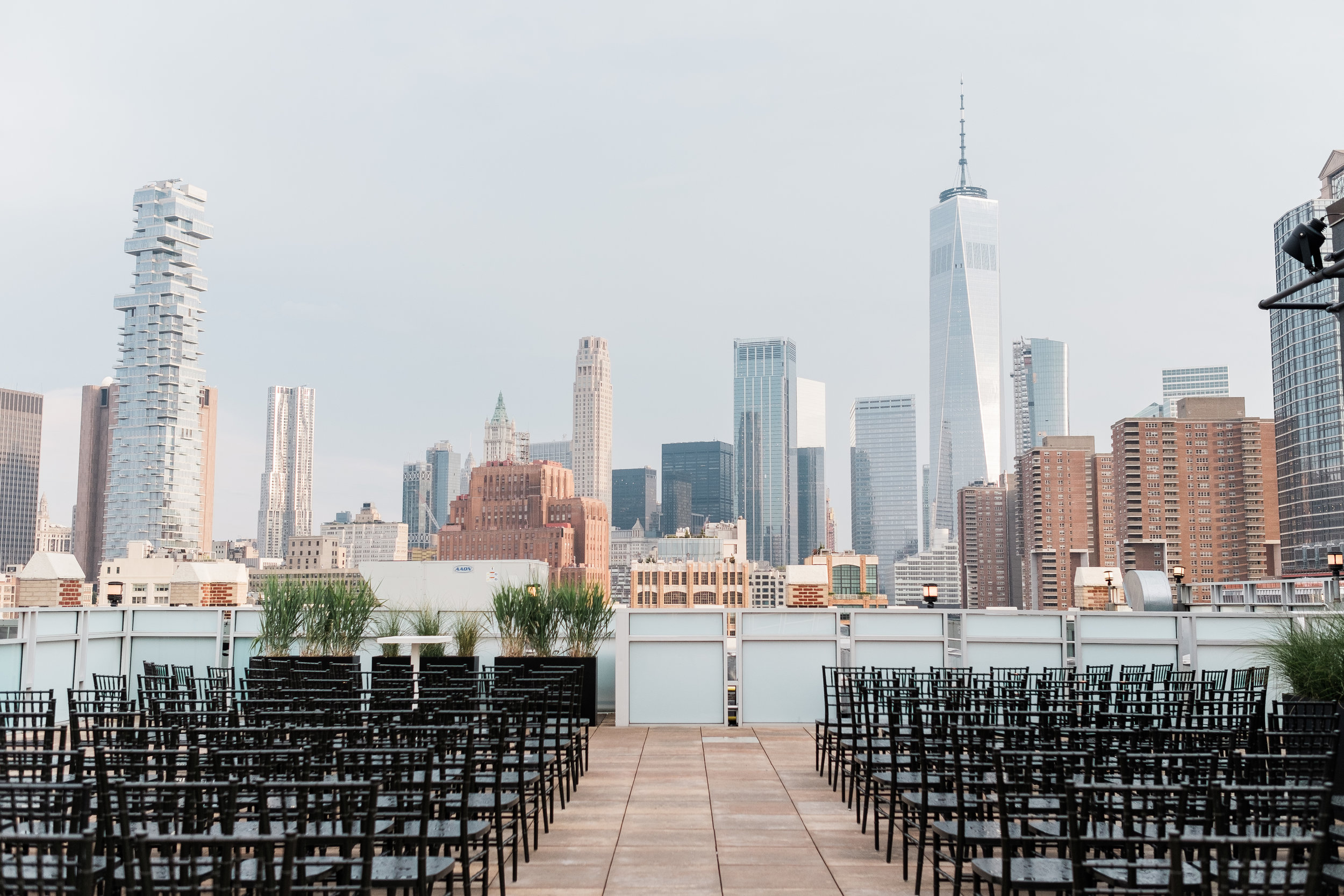 Katelyn and Ben - TriBeCa Rooftop - Rainy Wedding Inspiration - NYC Wedding Photographer - New York Wedding Photographer - 57.jpg