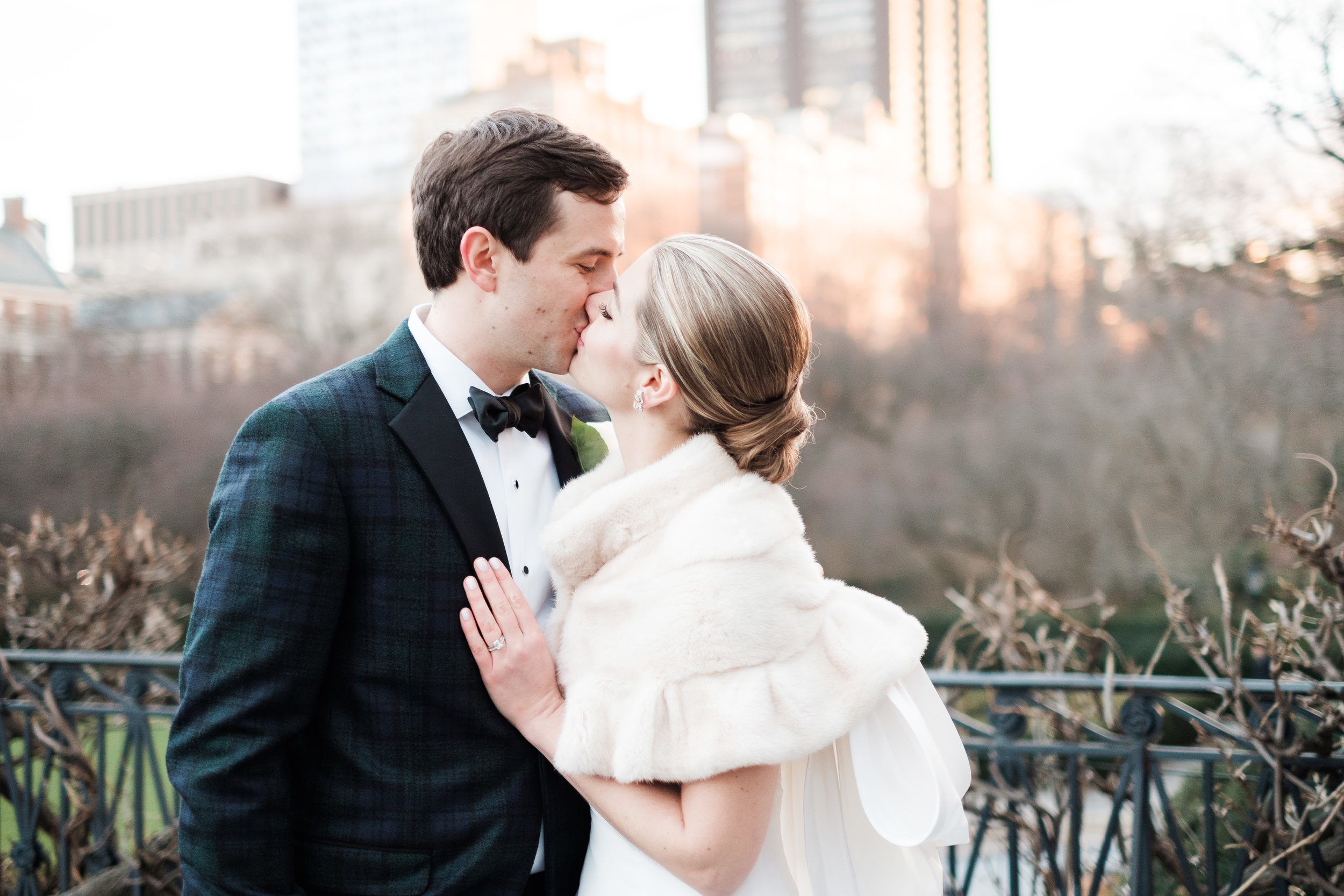 Courtney and Colin - Central Park Loeb Boathouse - Winter Wedding Inspiration - NYC Wedding Photographer - New York Wedding Photographer -36.jpg