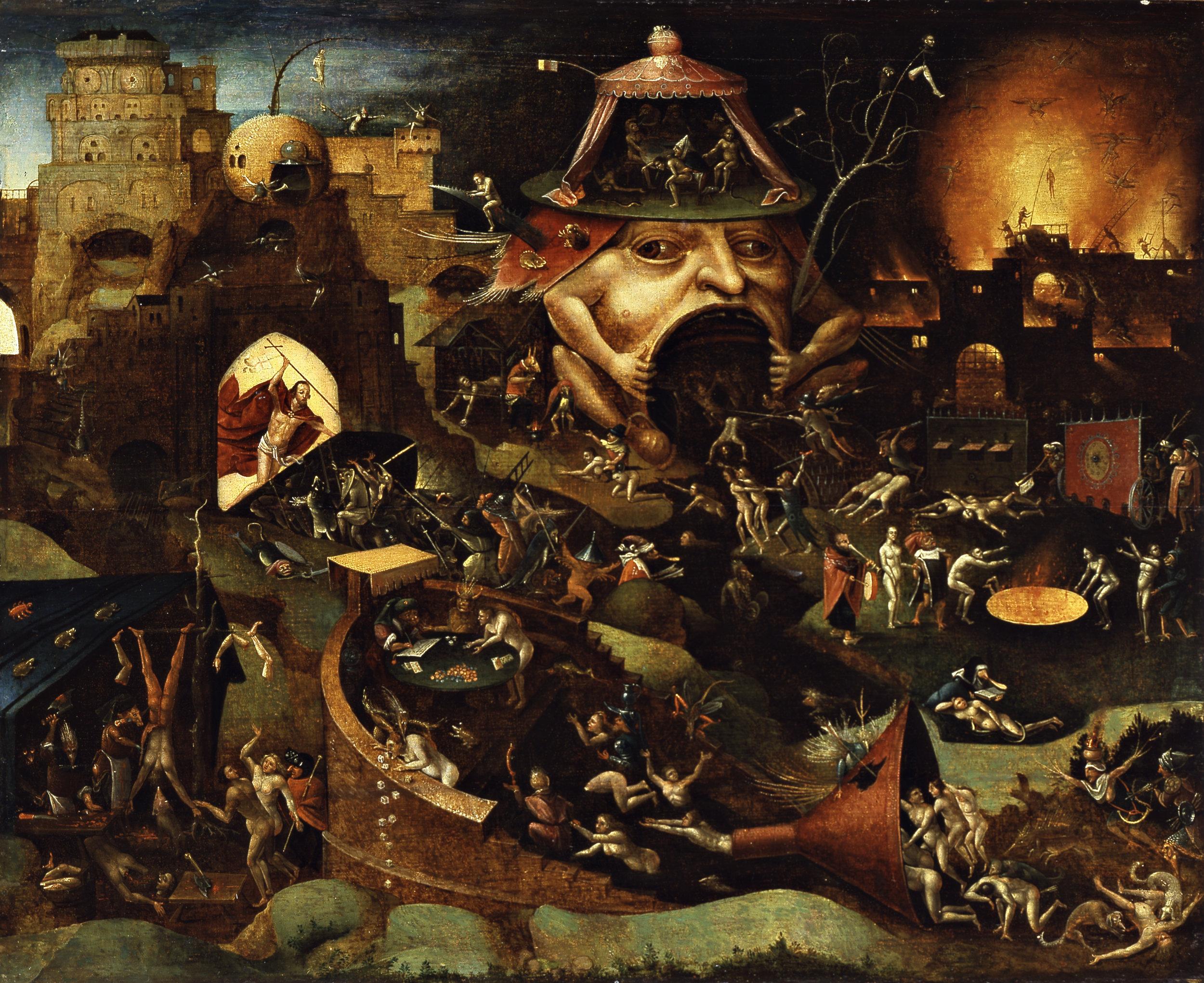 CHRIST IN LIMBO -  1575