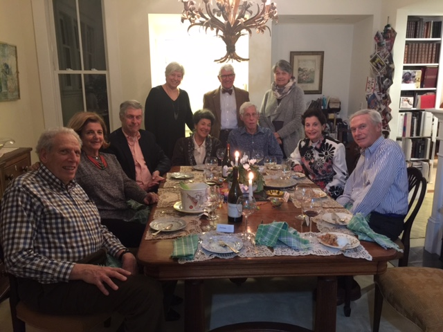 Cowins, Scheers, Wolks and Kellers - with my parents in Brookline last week.