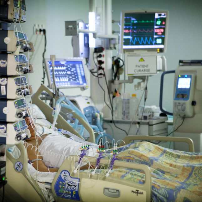 ICU patient.  Every patient is a unique, uncharacterized system.  NOT the same as a 737.
