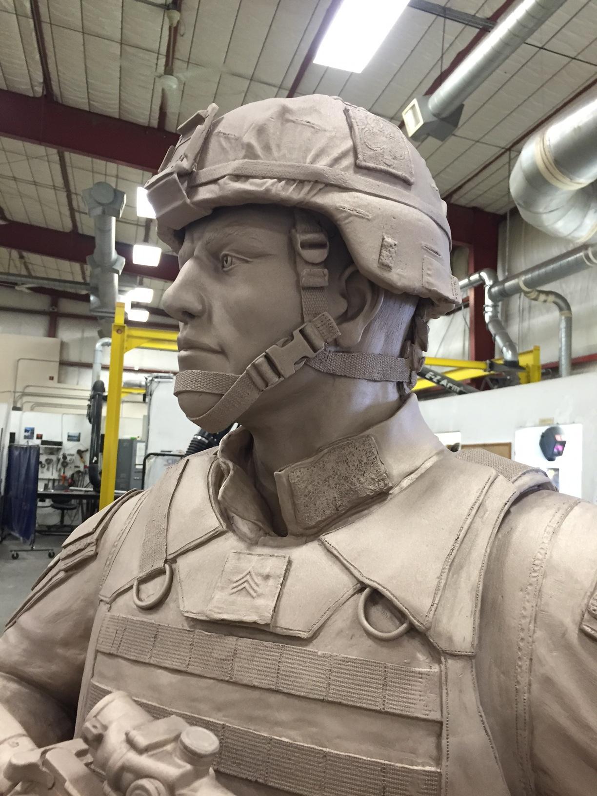 An American Soldier (Work in Progress Metal)