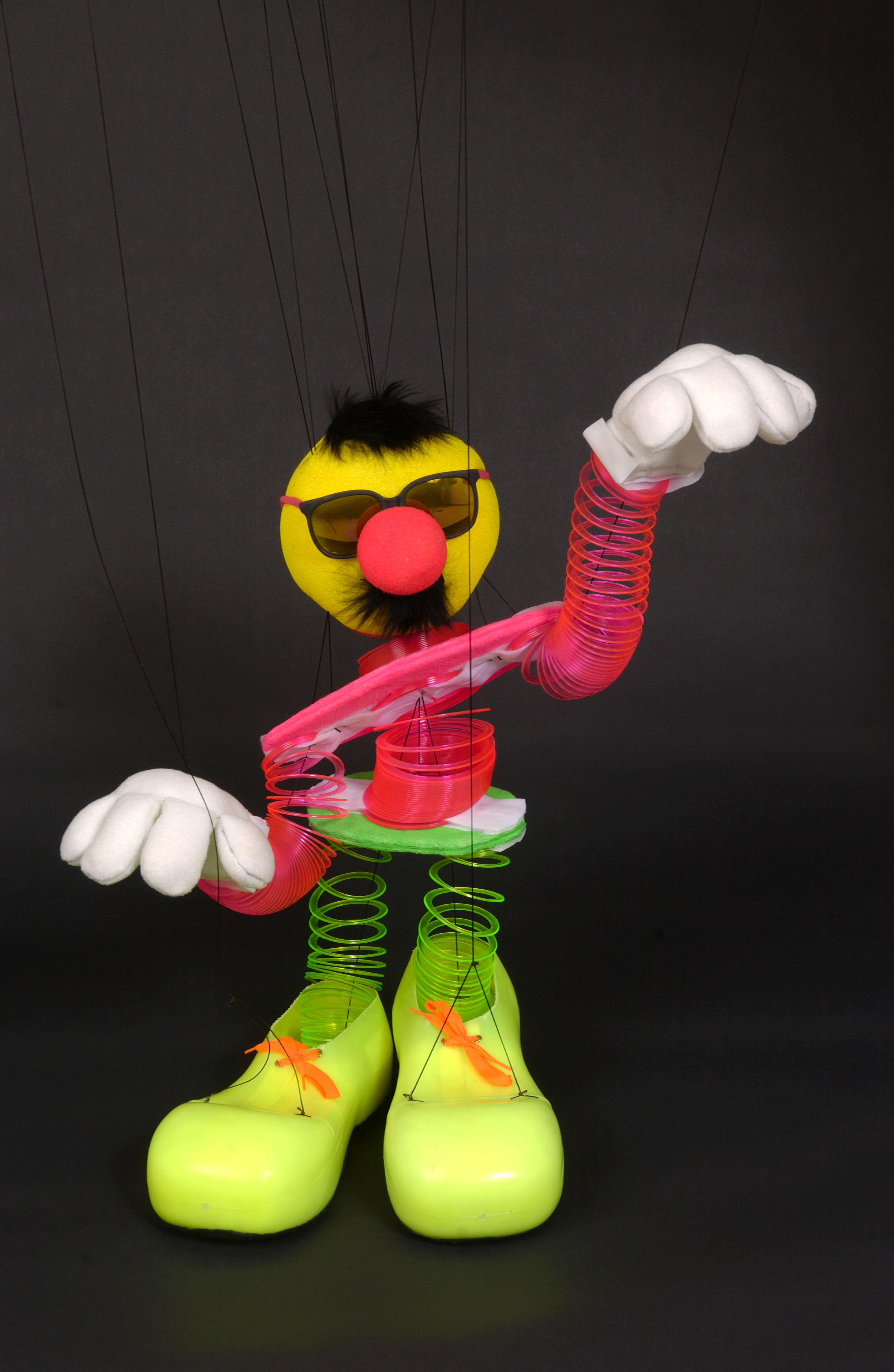 """Wayne Martin Puppets """"Mr. Springer"""""""