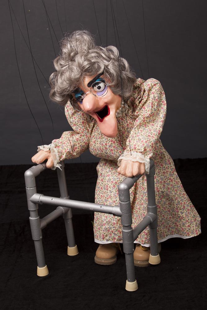 """Wayne Martin Puppets """"Granny Walker"""""""