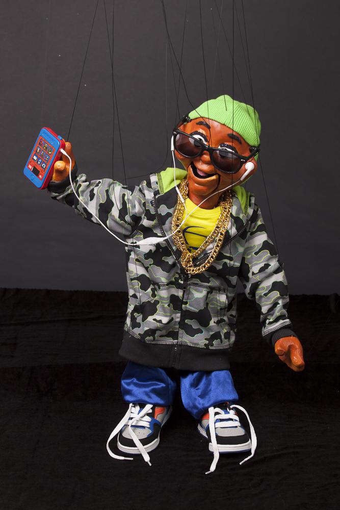 "Wayne Martin Puppets ""Kid Rapper"""