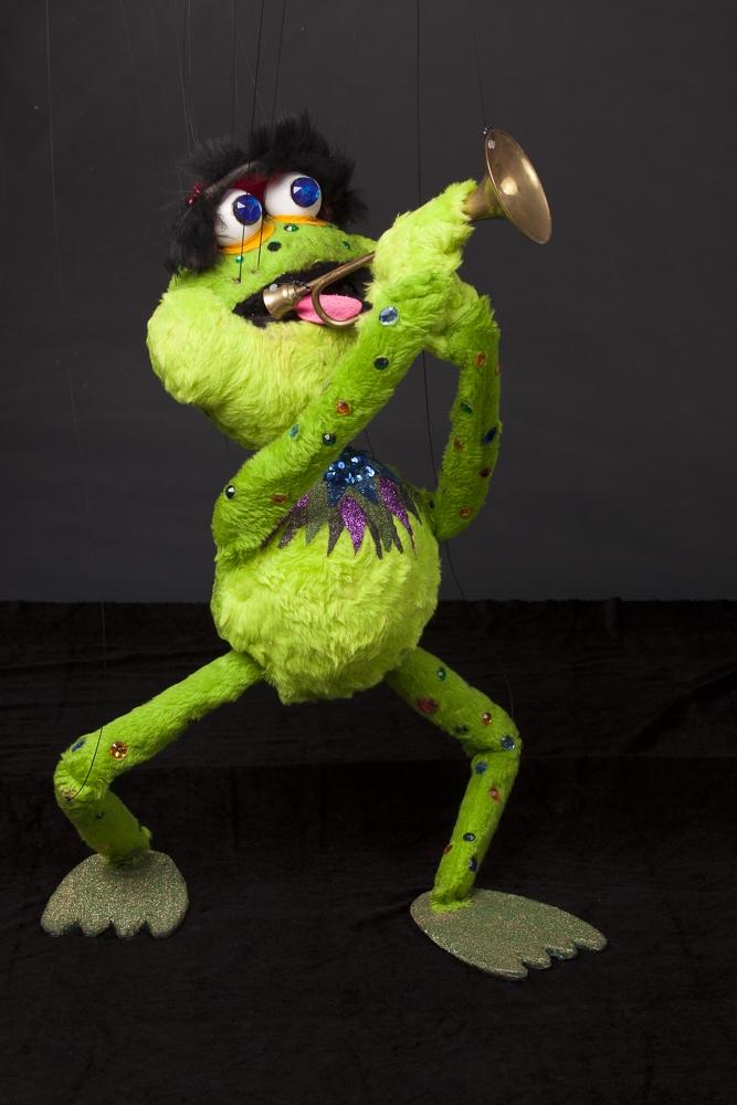 """Wayne Martin Puppets """"Slider Bullfrog"""""""