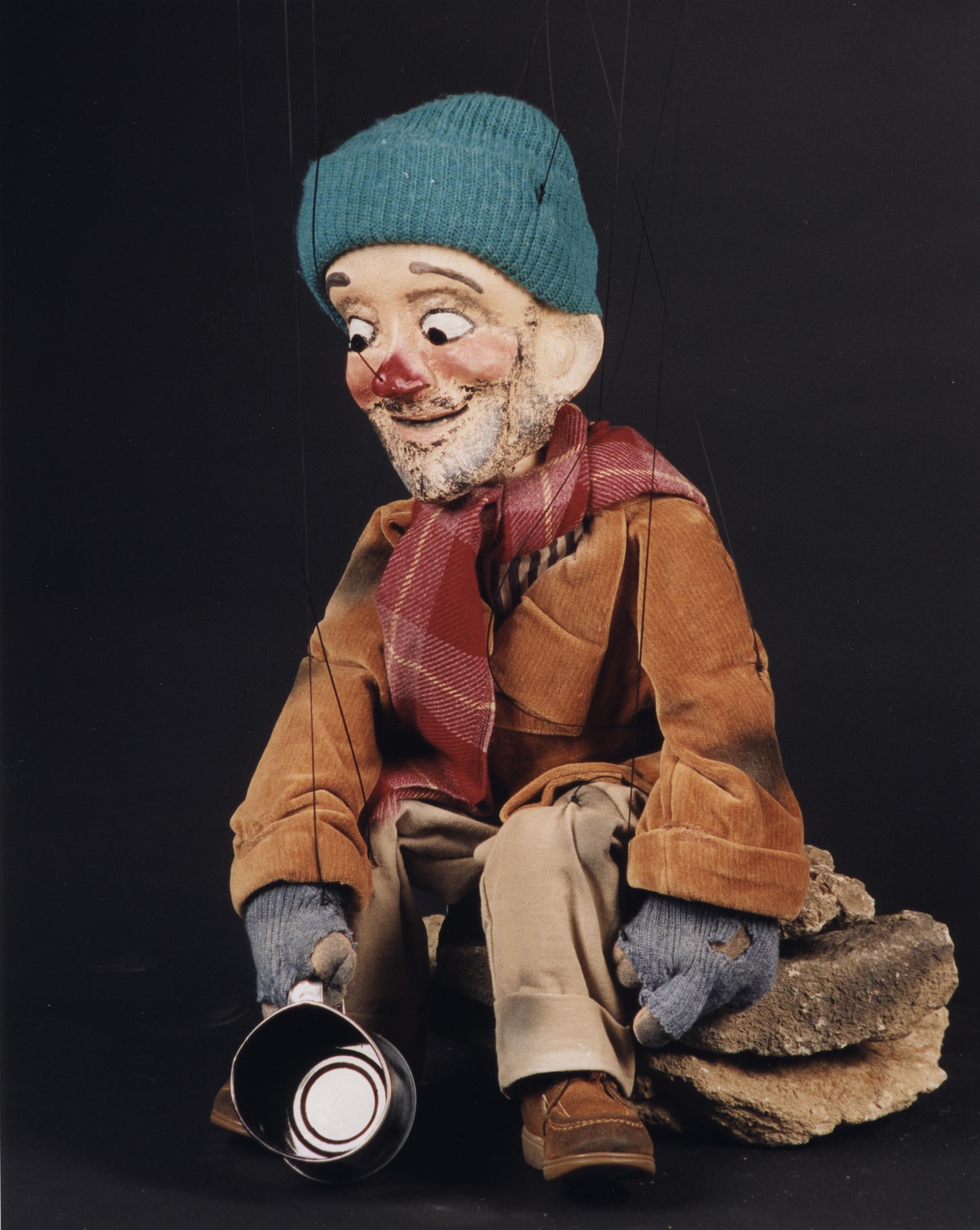 """Wayne Martin Puppets """"Homeless Derf"""""""