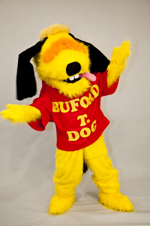 "Wayne Martin Puppets ""Buford T. Dog"" Humanette"