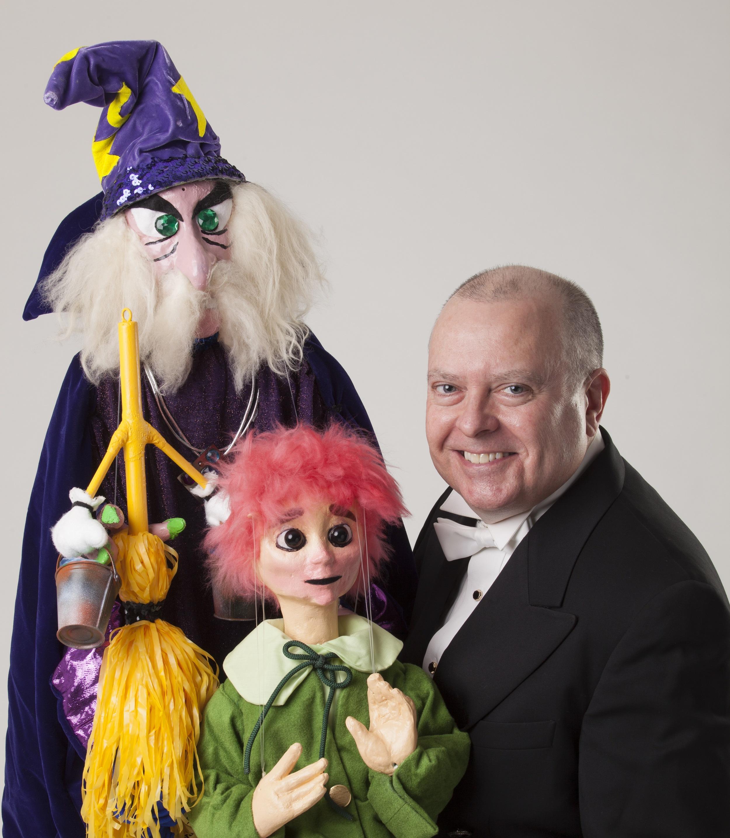 "Wayne Martin Puppets ""Sorcerer's Apprentice"""