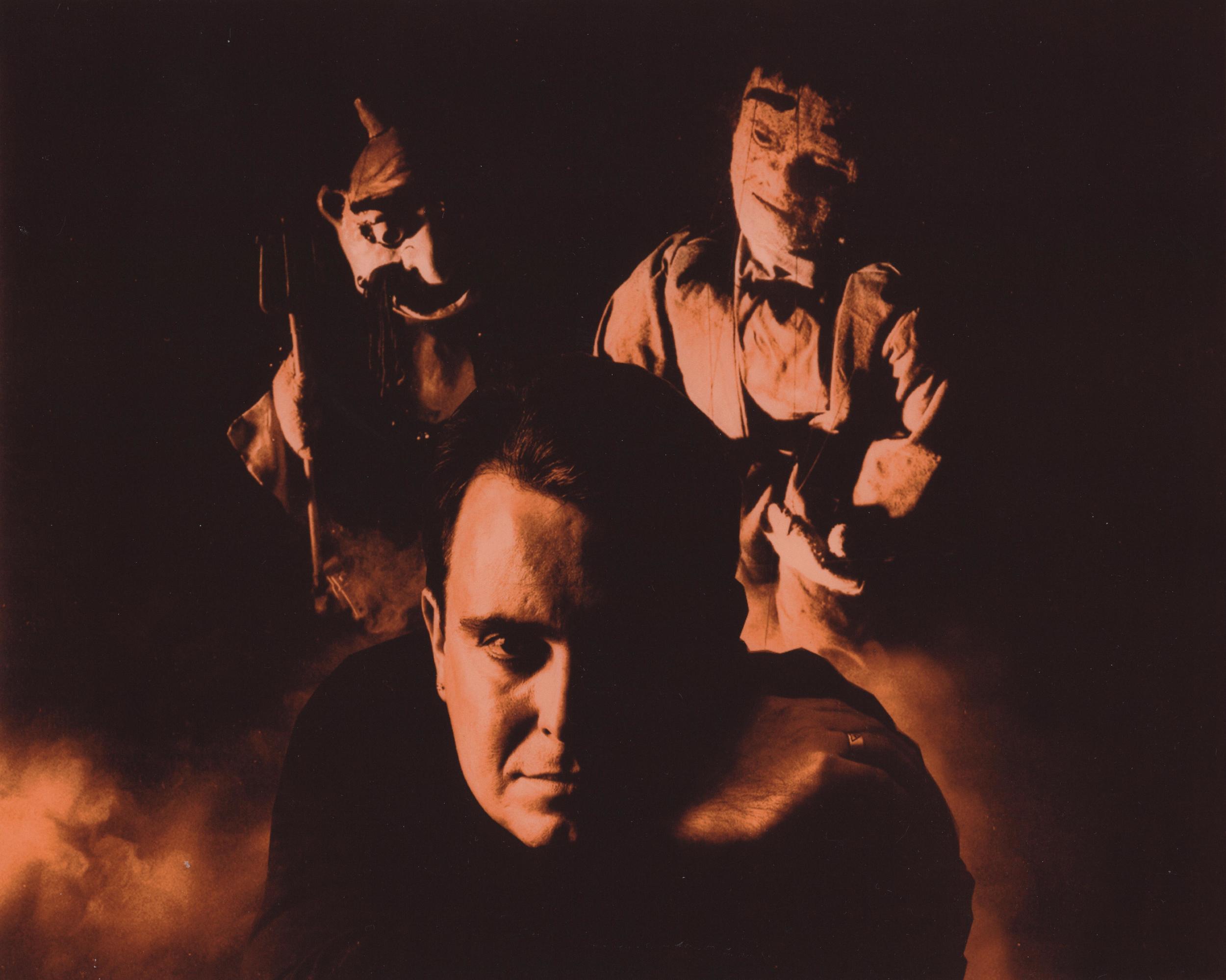 """Wayne Martin Puppets """"Demon & Frankenstein"""" with Wayne"""