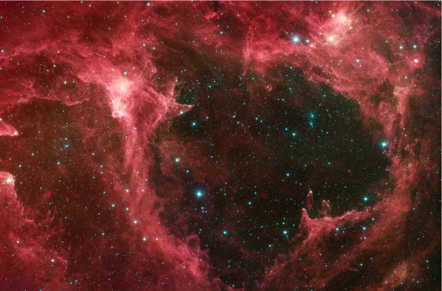 W5 Star Forming Region (Spitzer Space Telescope - NASA/JPL)