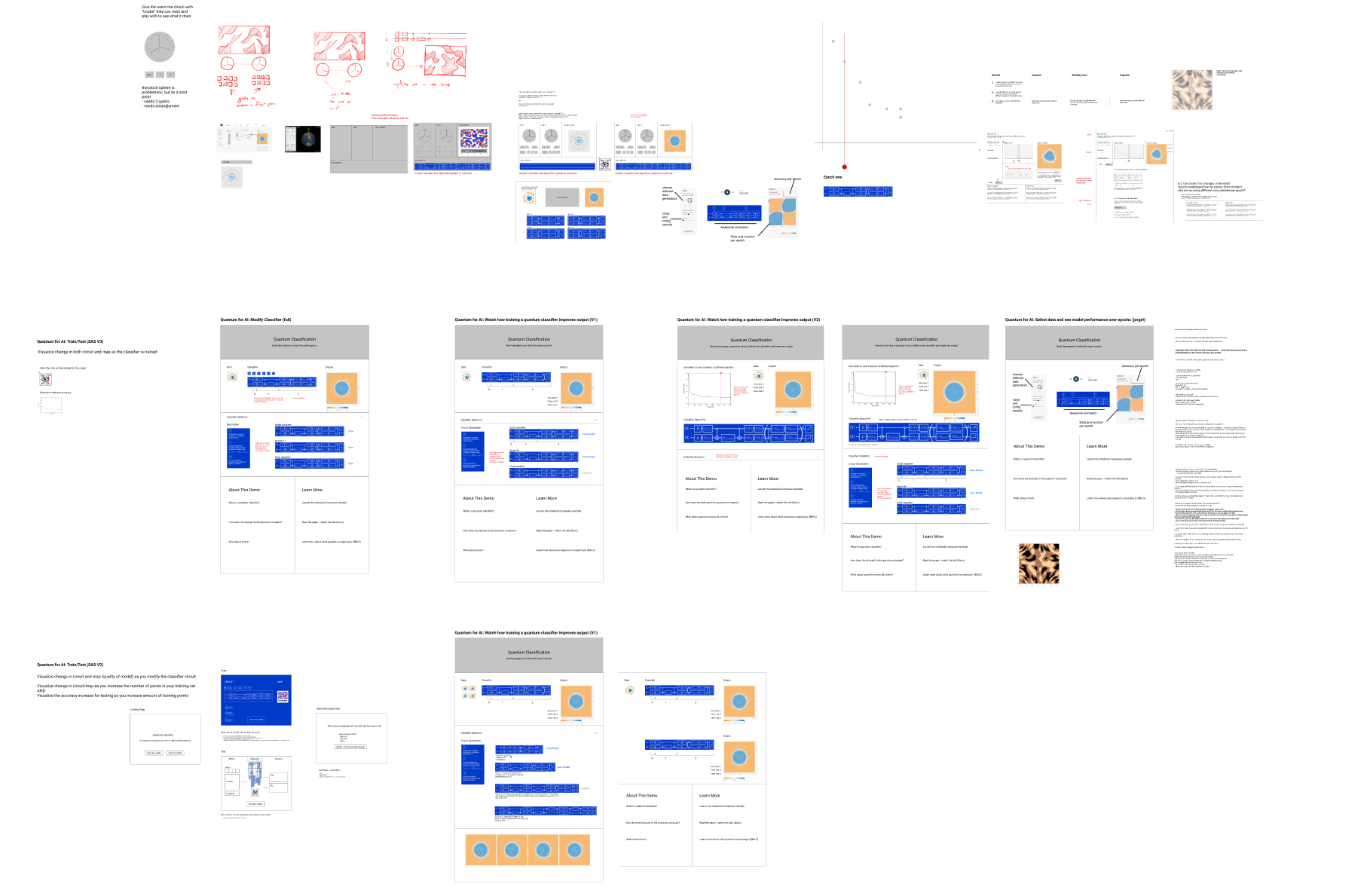 Initial concept sketches were created in the collaborative online design tool  Figma