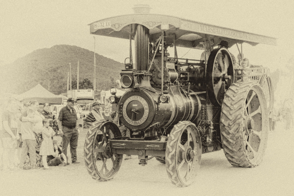 Marshall Compound Tractor