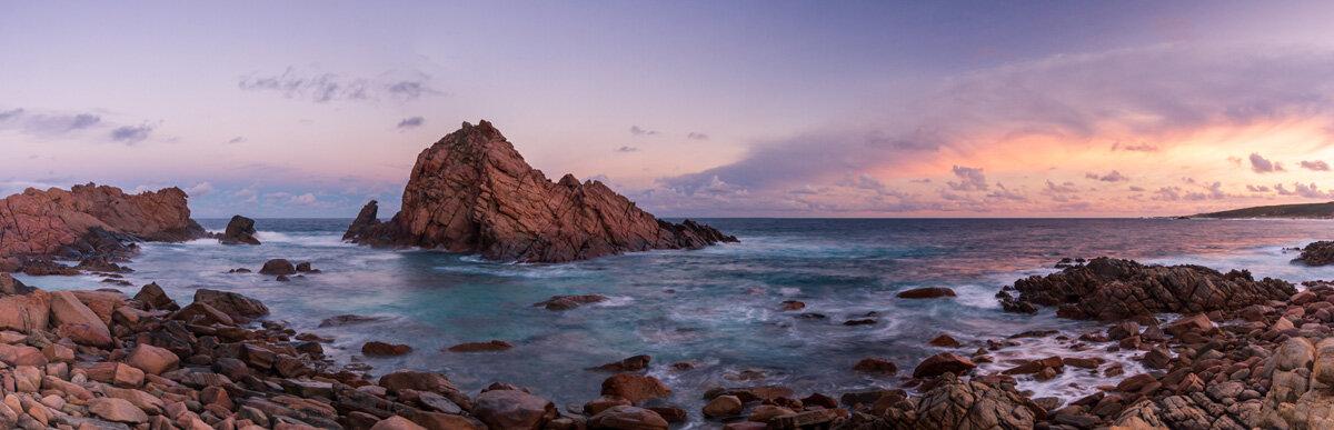 Sunrise over Sugar Loaf Rock