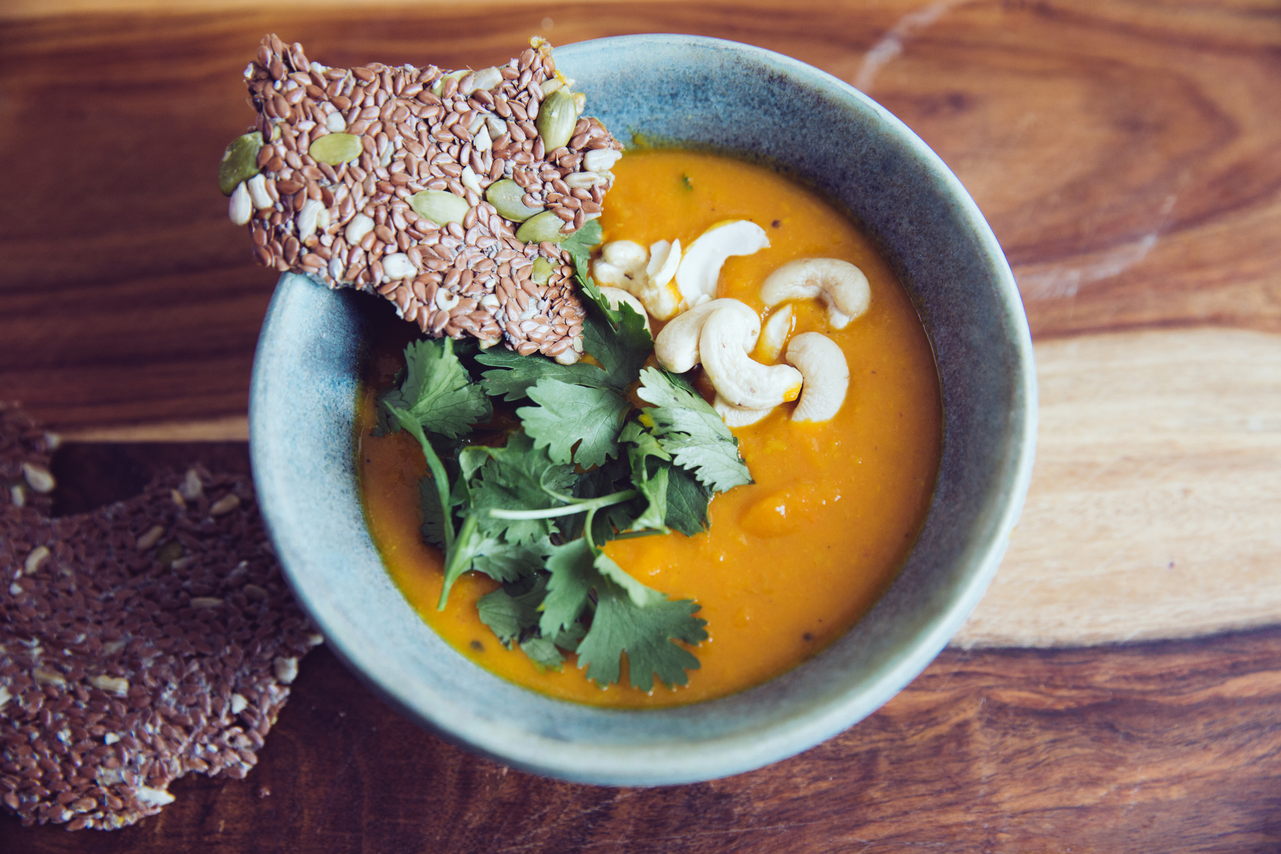 personal, chef, healthy, nutritious, meals, carrot curry soup 5