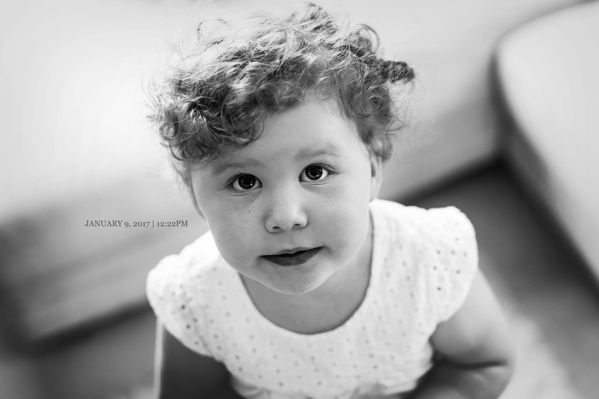 DAY NINE Miss Hazel. My first. You are determined. You are kind. Clever. And love to dance. Your heart is big. With so much love to share. Today I saw change in you. Here you were. Not my little baby anymore. But a young girl. Ready to be a big sister.
