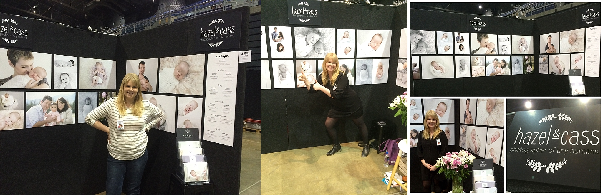 Me at the Woman's Expo in 2015.