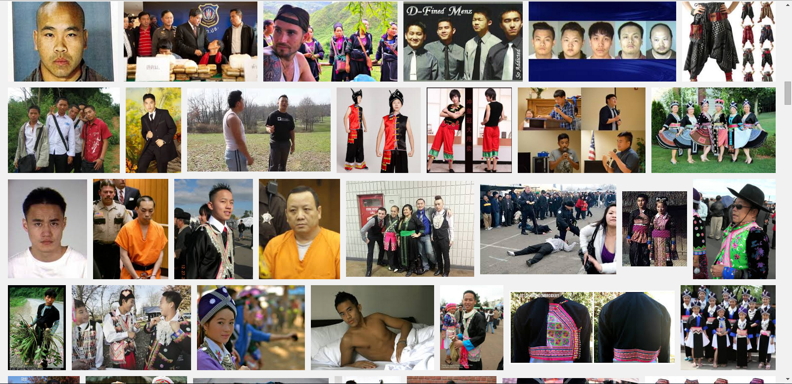 Googling Hmong Men
